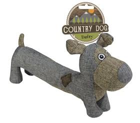 Canvas Country Dog Taxen Daisy