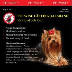 Petwise Fästinghalsband 0-45cm