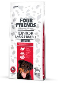 Four Friends Junior Large Breed 12kg