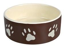 Keramikskål Brun m tass 0,8liter 16cm