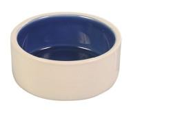 Keramikskål Vit/Blå 0,4liter 12cm