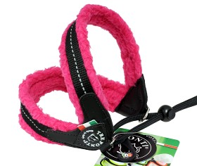 Sele TRE PONTI Basic Soft Fleece med band ROSA