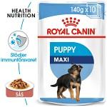 Royal Canin Maxi Puppy 10x140g - Våtfoder
