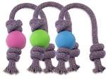 Beco Naturgummiboll med rep