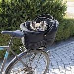 Cykelkorg för pakethållare, svart
