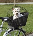Cykelkorg m dyna 35xh49x55cm, Svart