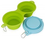 Duo Pet Travel Bowl 2 x 700ml