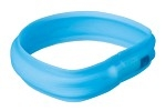 Trixie Flash Light Band USB L-XL 70cm/30mm Blå