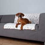 Trixie Hundfilt Lingo 100x75cm Vit/Beige