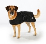 Hundtäcke Orleans Reflex/Fleece SVART 60 & 70cm