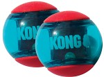 Kong Squeezz Action Boll L, 2-pack