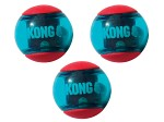 Kong Squezz Action Boll S, 3-pack