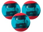 Kong Squezz Action Boll M, 3-pack