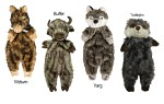 Plyschleksak Furry Skinneeez 50cm