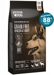 PrimaDog Adult All Breed Grain Free Hjort & Kalkon 1,5kg