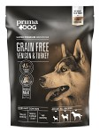 PrimaDog Adult GrainFree Hjort & Kalkon, 1,5kg