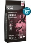 PrimaDog Adult All Breed Grain Free Lax & Potatis 10kg