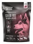 PrimaDog Adult All Breed Grain Free Lax & Potatis 1,5kg