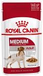 Royal Canin Meduim Adult 10x140g - Våtfoder