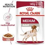 Royal Canin Medium Adult Våtfoder 10x140g