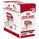 Royal Canin Medium Adult Våtfoder 10x140g