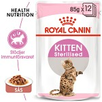 Royal Canin Kitten Sterilised Gravy 12x85gr