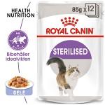Royal Canin Sterilised Jelly Våtfoder 12x85gr