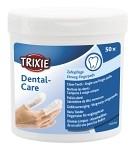 Trixie Fingerpads med mint för Tandvård 50-pack