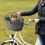 Trixie Cykelkorg Grå Med Galler 44 x 34 x 35cm