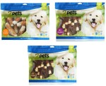 2pets Tuggrulle m file 10cm x 30pack