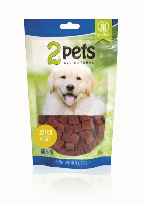 2pets Dogsnack Cubes 100 g