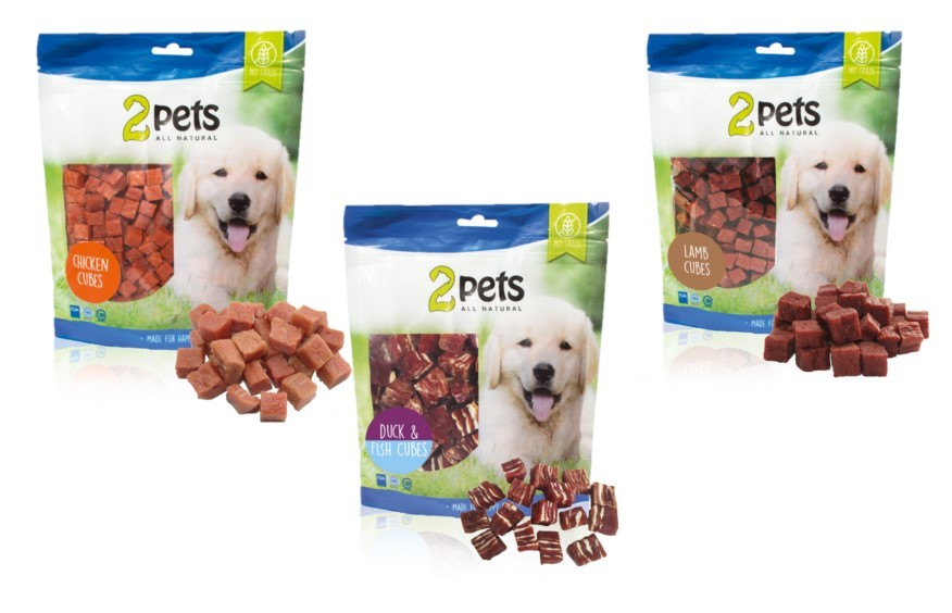 2pets Dogsnack, 400g