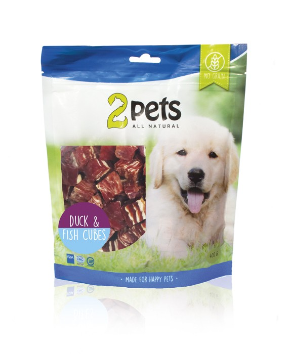 2pets Dogsnack 400g