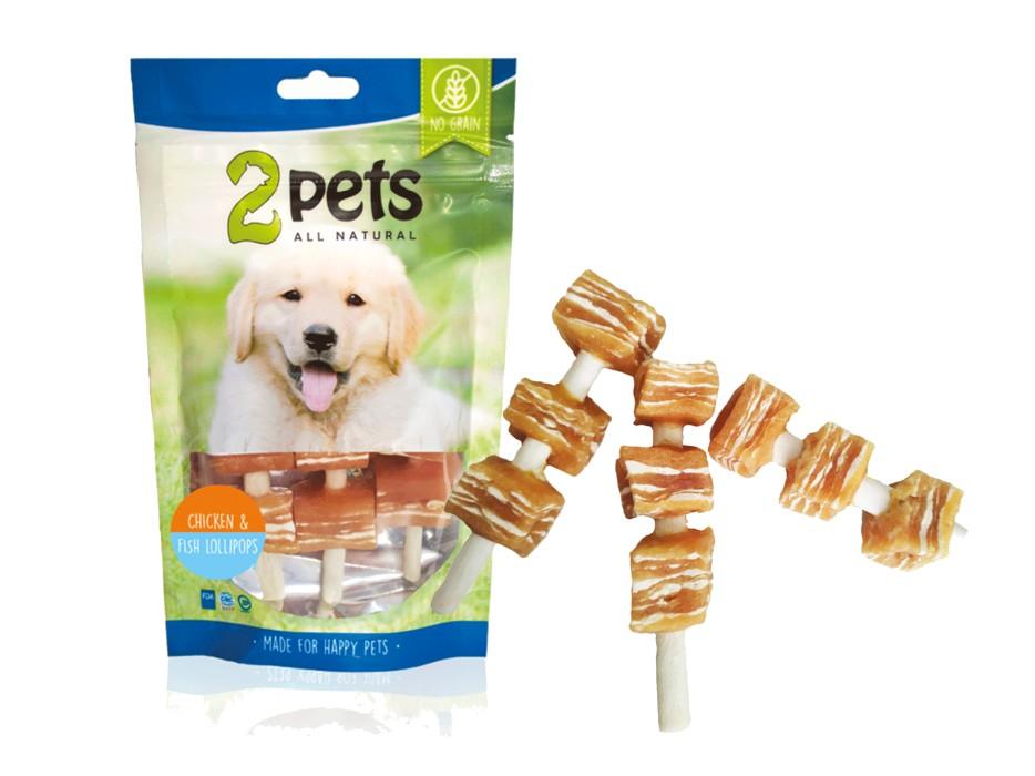 2Pets Dogsnack Lollipops 100g
