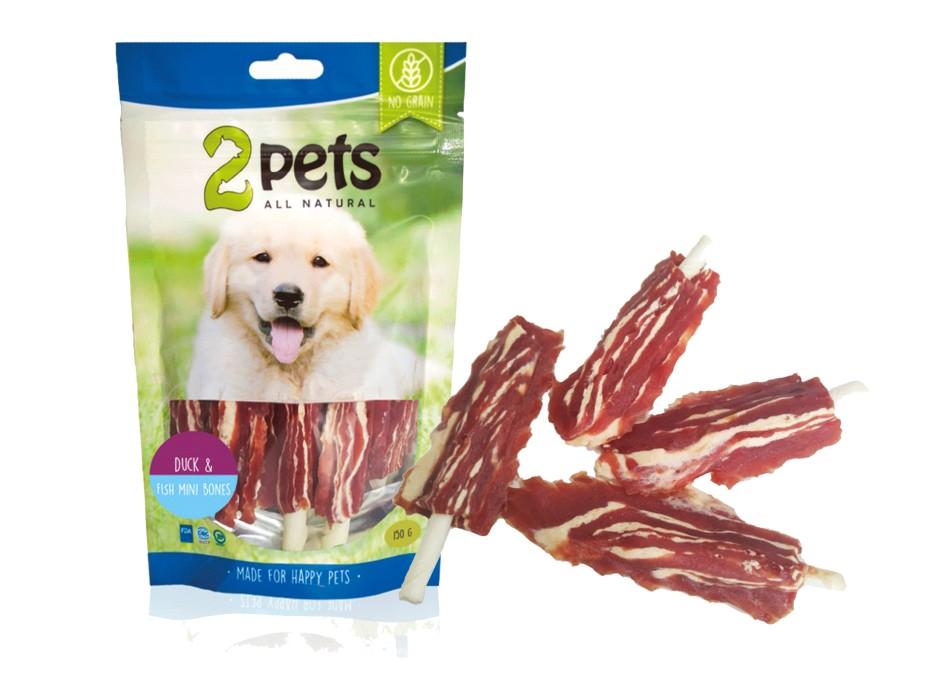 2Pets Dogsnack Minibones 150g