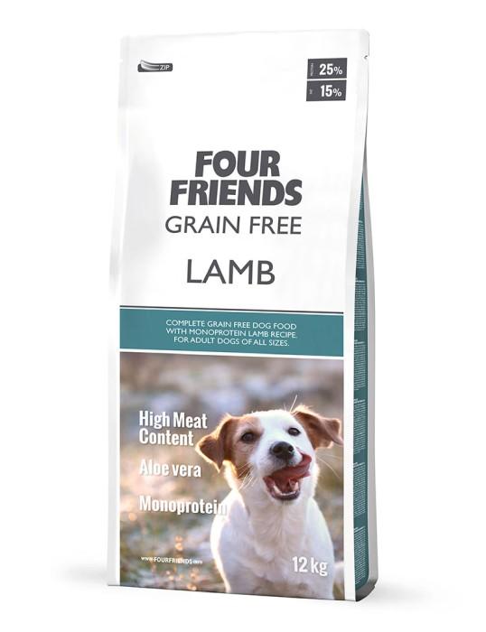 Four Friends Grain Free Lamb 12kg