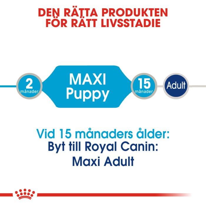 Royal Canin Maxi Puppy Våtfoder, 10x140g