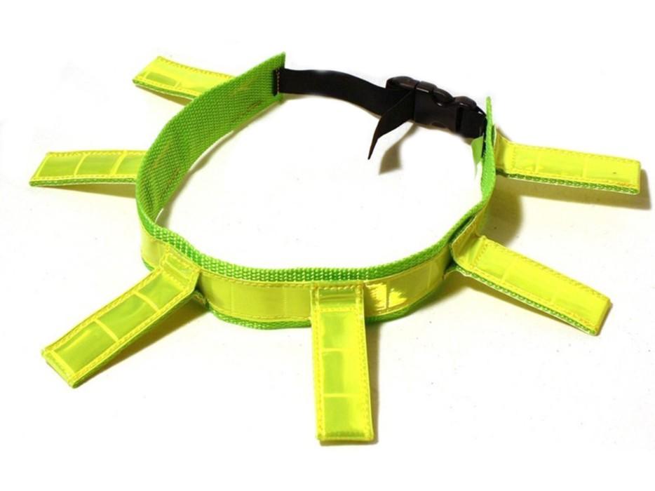 Alac Reflexhalsband Flärpar med spänne