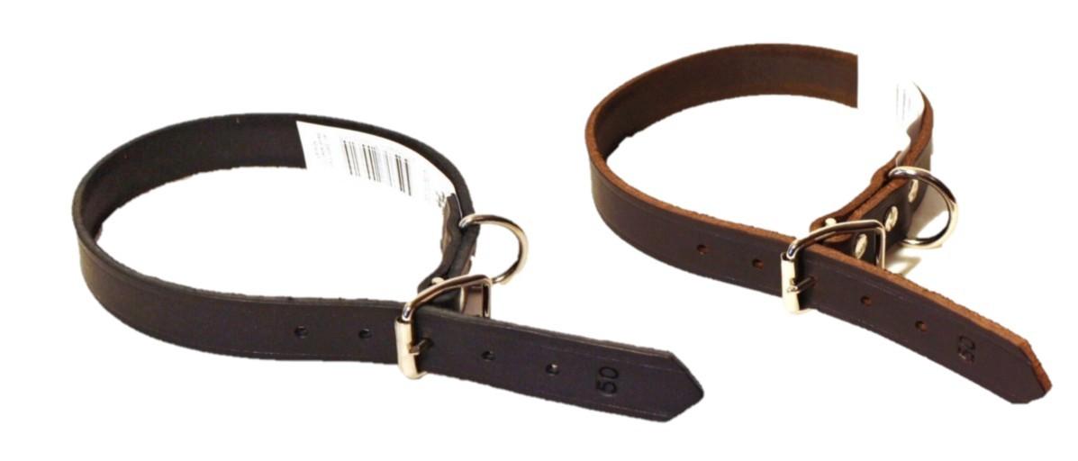 Alac Läderhalsband, 40,45,50cm