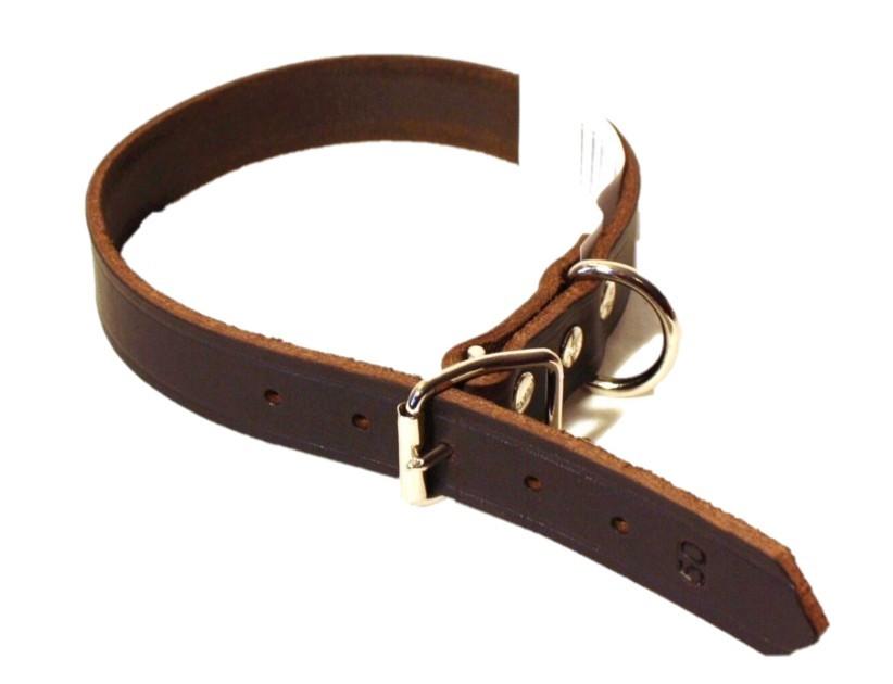 Alac Läderhalsband 22mm x 60, 65 & 70 cm