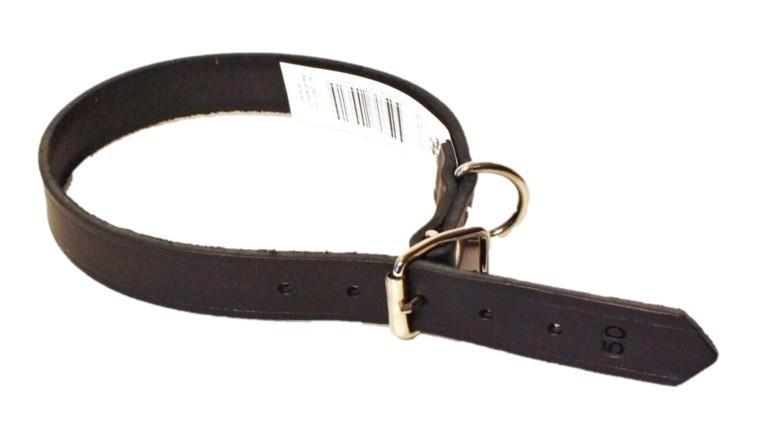 Alac Läderhalsband, 25,30,35,40,45cm