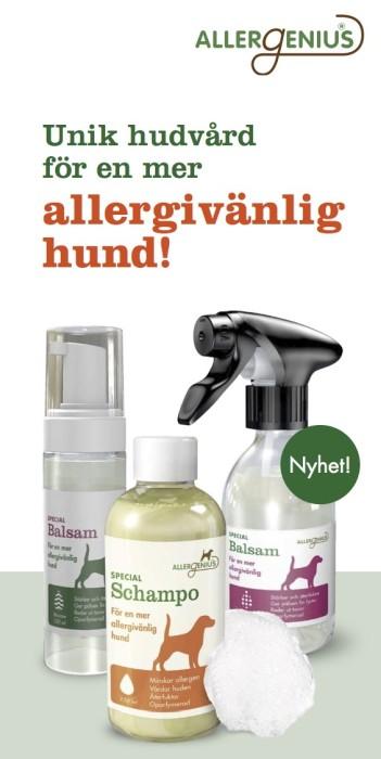 Allergenius Specialschampo 250ml Hund