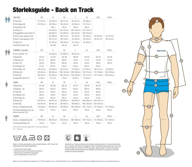 Back On Track Tröja Liam Svart Herr