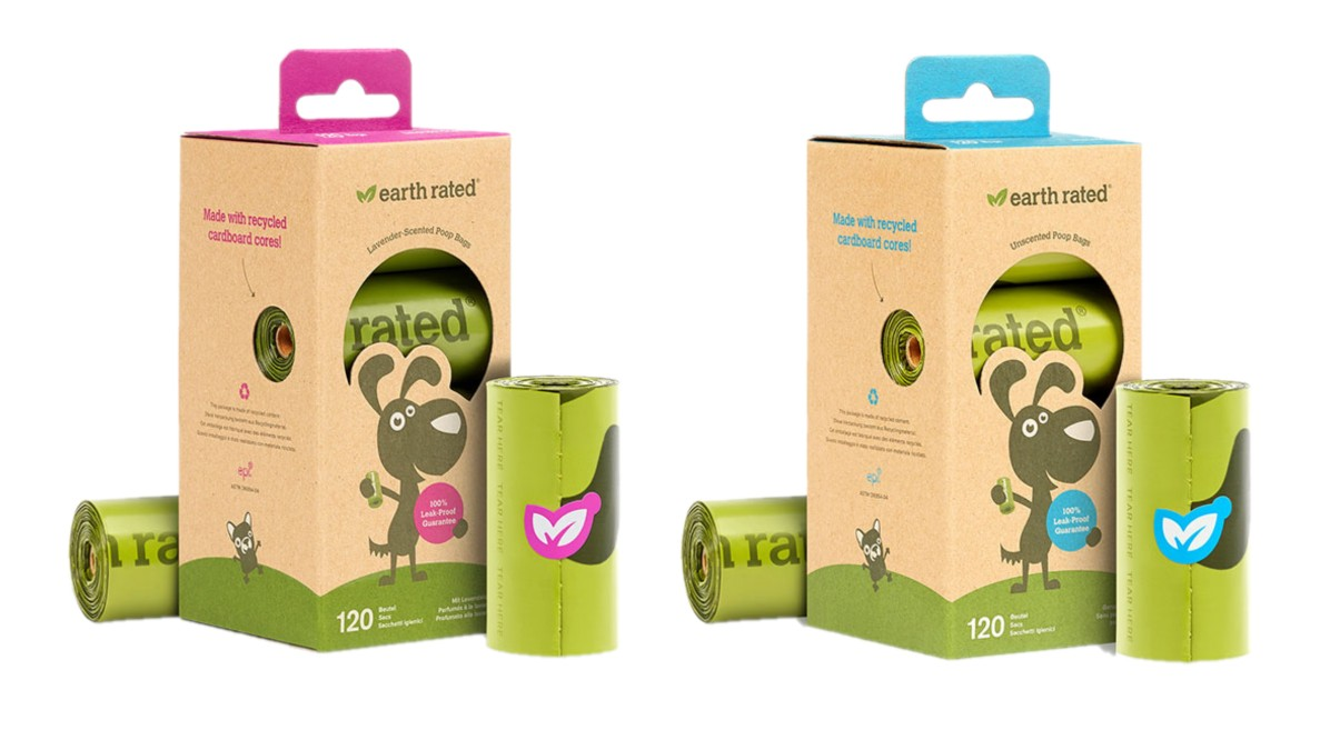 Bajspåsar Earth Rated Eco-Friendly Refills 8-pack