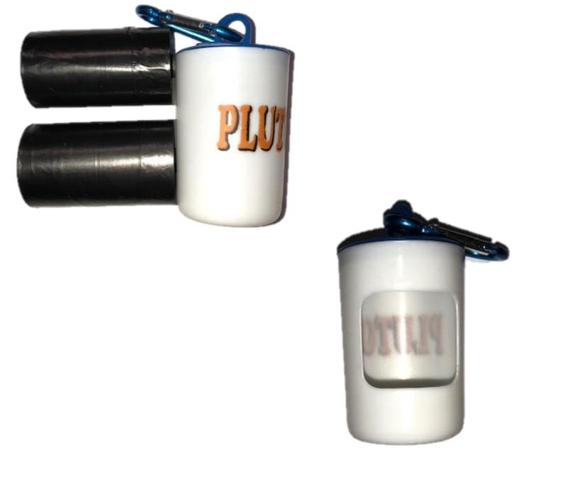 Bajspåsehållare Pluto inkl 2 rullar