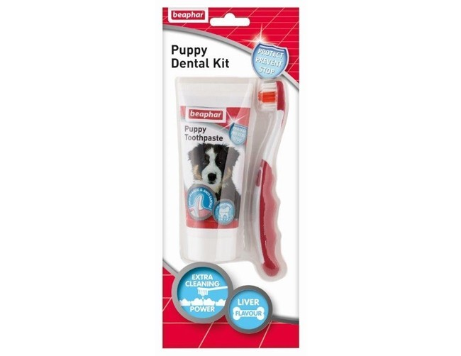 Beaphar Puppy Dentalkit