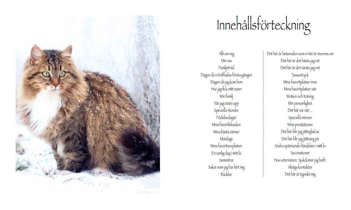 Bok - Mitt härliga kattliv
