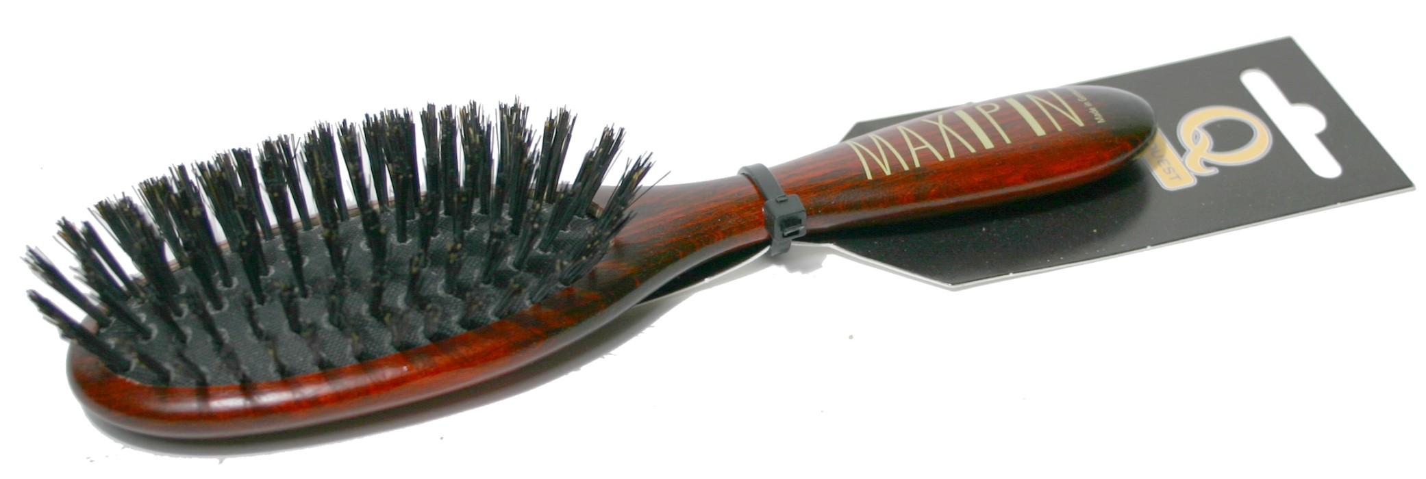 MaxiPin Borste Äkta vildsvin Gles Oval 18,5xcm