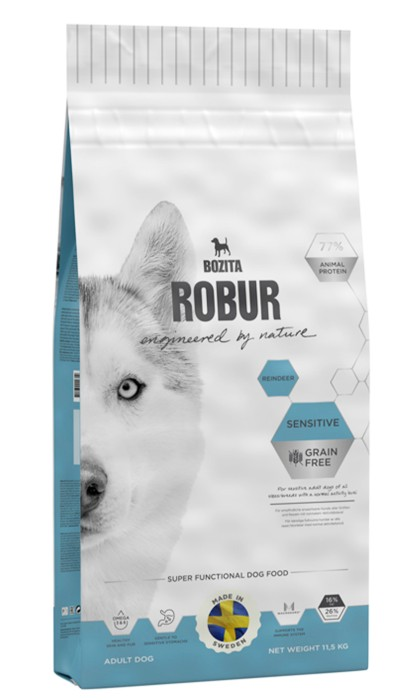 Robur Sensitive Grain Free Reindeer 11,5kg