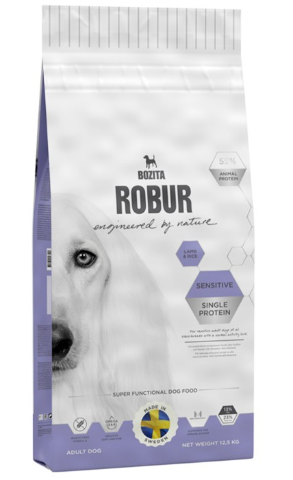 Robur Sensitive Single Protein Lamm 12,5kg